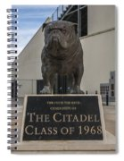 Citadel Bulldog Spiral Notebook