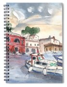 Citadel Of Minorca 03 Spiral Notebook