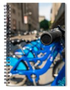 Citibike Handle Manhattan Color Spiral Notebook