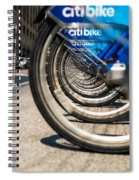 Citibike Manhattan Spiral Notebook