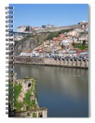 Cities Of Porto And Gaia In Portugal Spiral Notebook