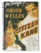 Citizen Kane - Orson Welles Spiral Notebook