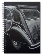 Citroen 2cv Charleston Spiral Notebook