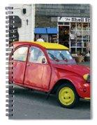 Citroen 2cv Spiral Notebook