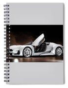 Citroen Supercar Concept Spiral Notebook