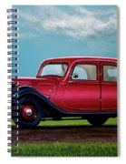 Citroen Traction Avant 1934 Painting Spiral Notebook