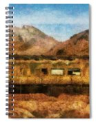 City - Arizona - Desert Train Spiral Notebook