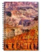 City - Arizona - Grand Canyon - Kabob Trail Spiral Notebook
