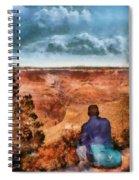 City - Arizona - Grand Canyon - The Vista Spiral Notebook