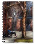 City - Newark Nj - Always Waiting  Spiral Notebook