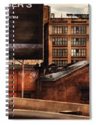 City - Ny - New York History Spiral Notebook