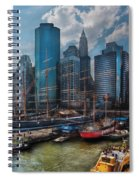 City - Ny - The New City Spiral Notebook
