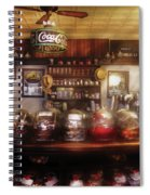 City - Ny 77 Water Street - The Candy Store Spiral Notebook