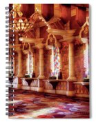 City - Vegas - Excalibur - In The Great Hall  Spiral Notebook