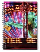 City - Vegas - Ny - The Bar At Times Square Spiral Notebook