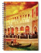 City - Vegas - Venetian - Life At The Palazzo Spiral Notebook