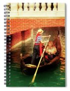 City - Vegas - Venetian - That's Amore Spiral Notebook