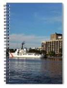City Across The River Spiral Notebook