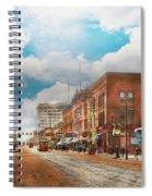 City - Arkansas - Main St 1925 Spiral Notebook