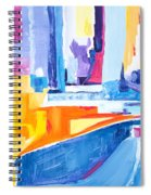 City At Waters Edge Spiral Notebook