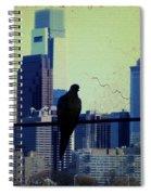 City Bird Spiral Notebook
