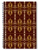 City Brown Spiral Notebook