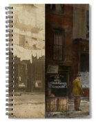 City - Elegant Apartments - 1912 - Side By Side Spiral Notebook