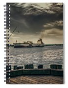 City Fishing Spiral Notebook