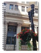 City Flowers Spiral Notebook