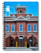 City Hall And Fire Department Spiral Notebook