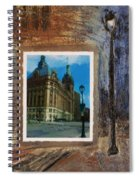City Hall And Street Lamp Spiral Notebook