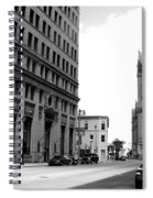 City Hall B-w Spiral Notebook