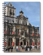 City Hall - Delft - Netherlands Spiral Notebook