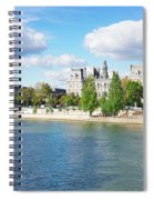 Seine River Embankment Spiral Notebook