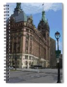 City Hall With Street Lamp Spiral Notebook