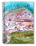 City In The Wall Spiral Notebook