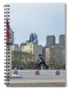 City Life - The Philadelphia Art Museum Spiral Notebook