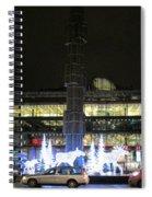 City Lights 2 Spiral Notebook