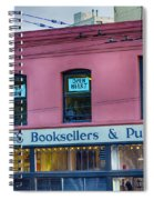 City Lights Booksellers Spiral Notebook