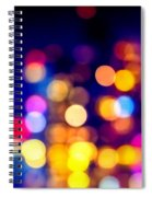 City Lights Spiral Notebook