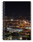 City Lights Over Bham, Al Spiral Notebook