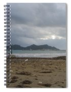 City Lost To The Sea Spiral Notebook