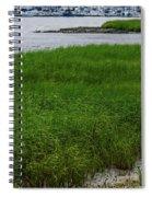 City Marina Marsh View Spiral Notebook