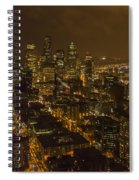 City Night Spiral Notebook