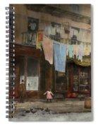 City - Ny - Elegant Apartments - 1912 Spiral Notebook