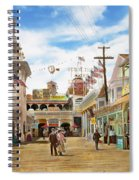 City - Ny - The Great Steeplechase 1903 Spiral Notebook