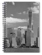 City - Ny - The Shades Of A City Spiral Notebook