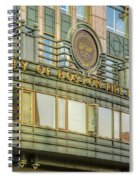 City Of Boston Fire Department Spiral Notebook