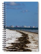 City Of Clearwater Skyline Spiral Notebook