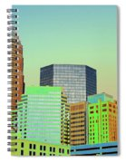 City Of Colors Spiral Notebook